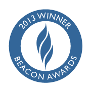 AEP Beacon Award for the best marketing website in 2013 - granted to a site built by Cuesta.